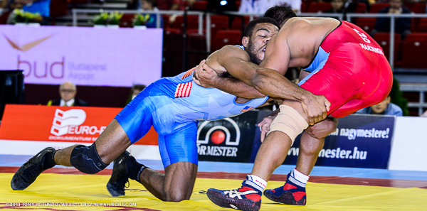 Click above to see all Burroughs photos from the 2013 World Championships.