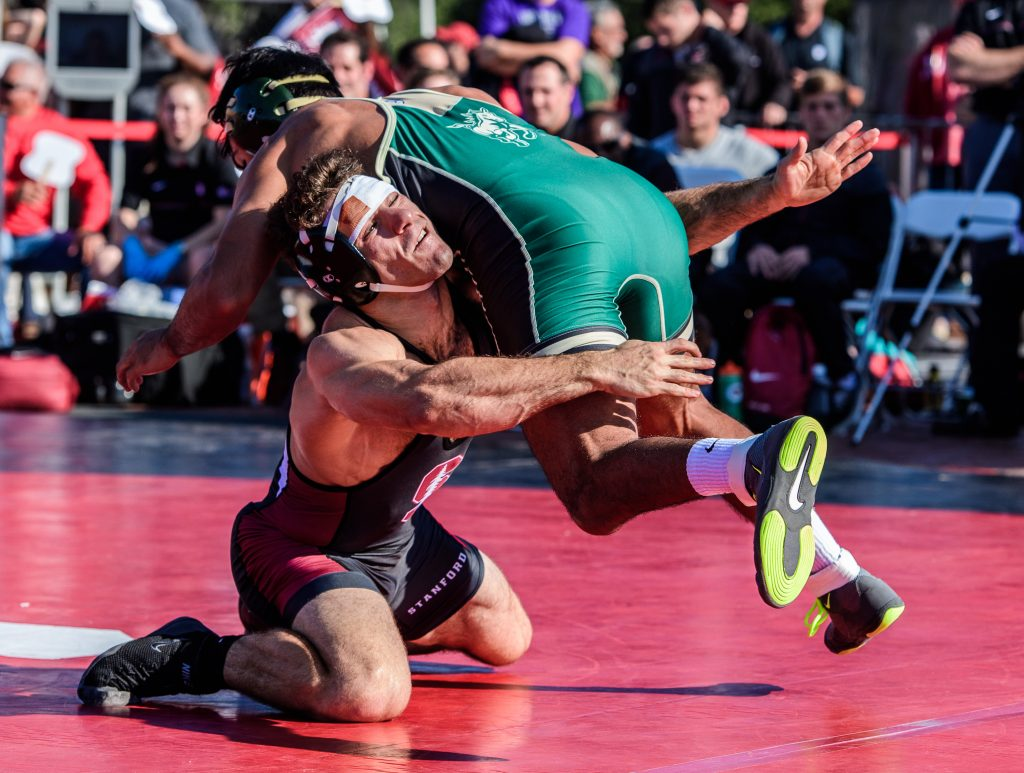 2016 COLLEGE WRESTLING: CAL POLY AT STANFORD